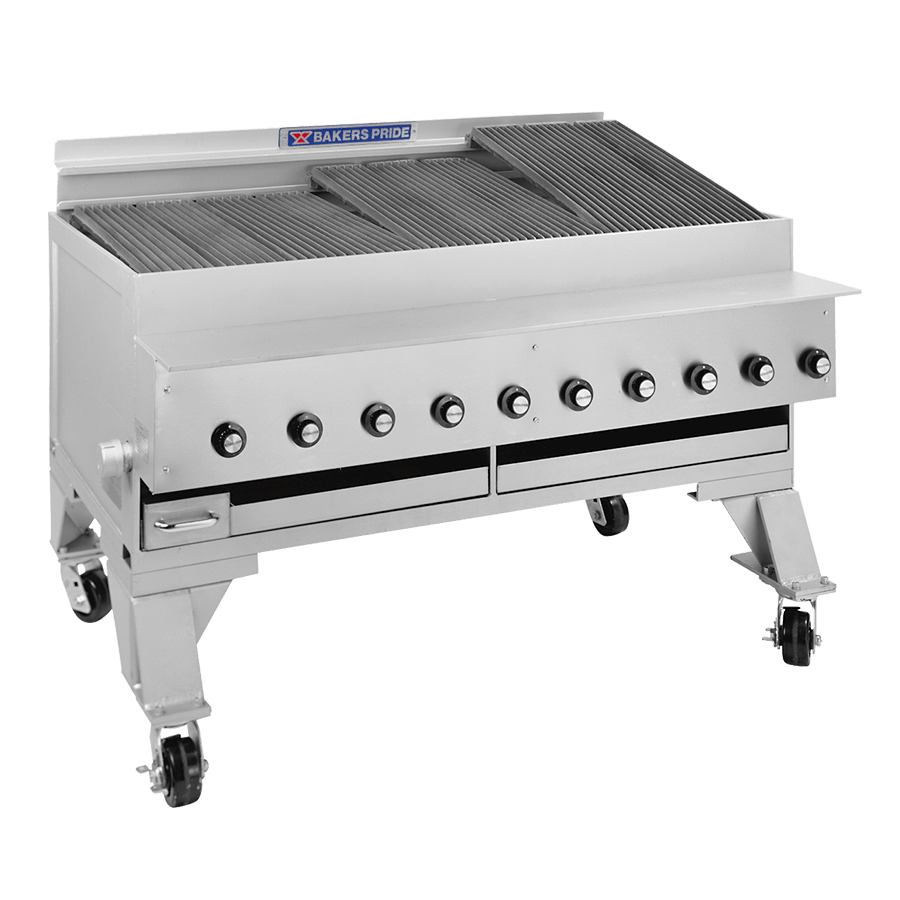 CH Dante Series Extra Heavy-Duty Commercial Gas Charbroilers : CH-10