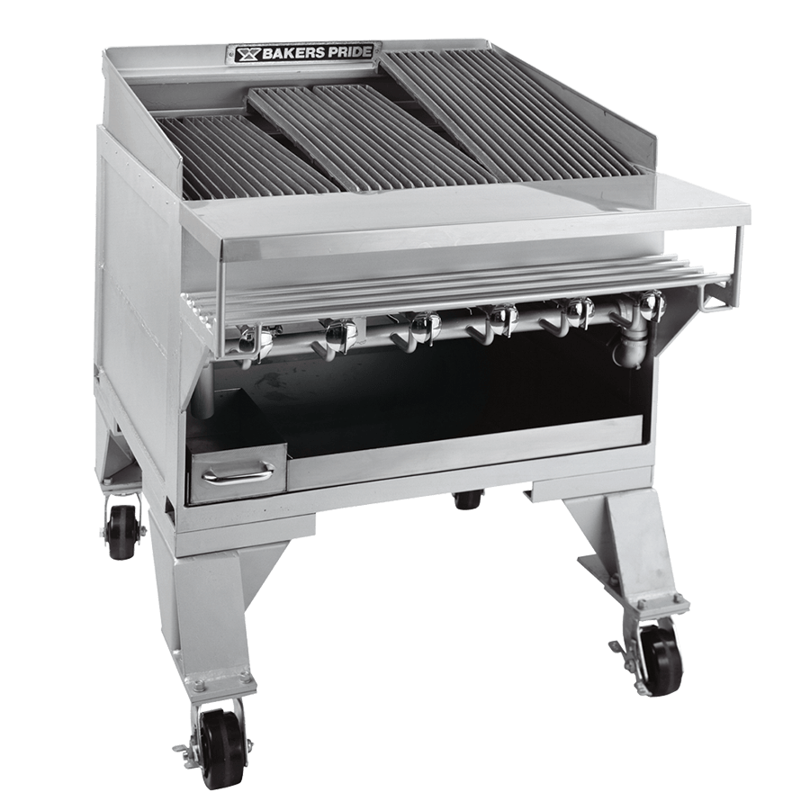 CH Dante Series Extra Heavy-Duty Commercial Gas Charbroilers : CH-6