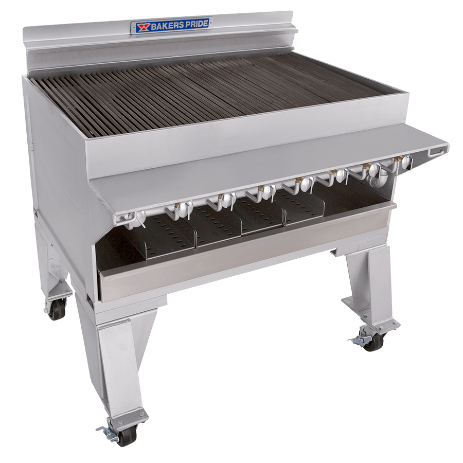 CH Dante Series Extra Heavy-Duty Commercial Gas Charbroilers : CH-8