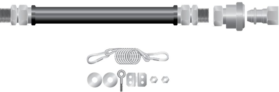 SGC Gas Connectors For Stationary Equipment : SGC-100