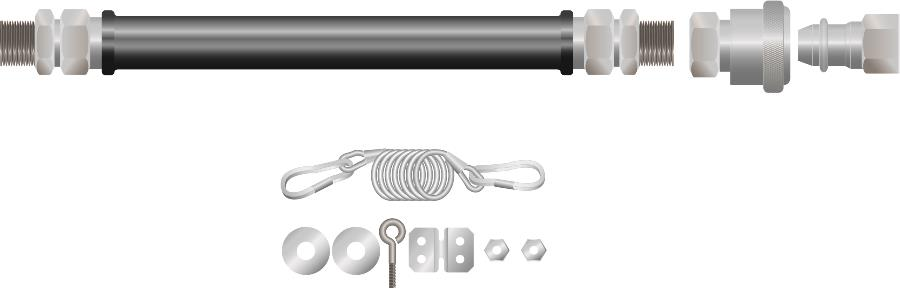 MGC Gas Connectors for Mobile Equipment : MGC-100